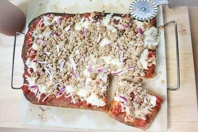 Easy Pizza Lavash Recipe