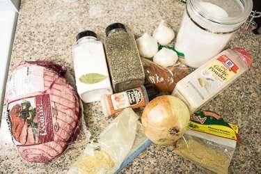 Oven Roasted Lamb Leg Recipe