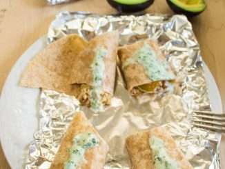 Turkey Burrito Make Ahead