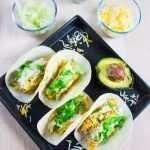 Easy Chicken Sweet Potatoes Veggie Tacos