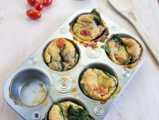 Breakfast Veggie Egg Muffins