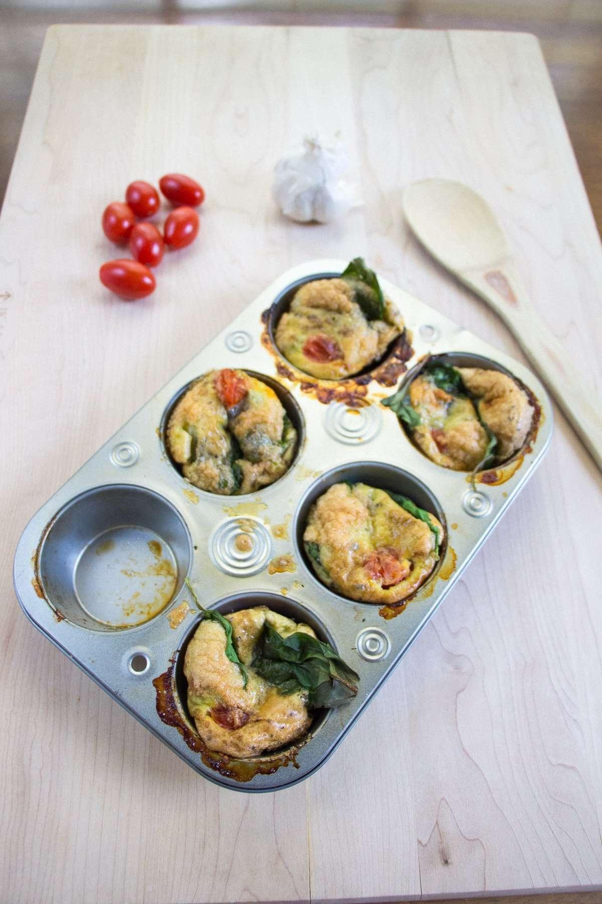 Breakfast Veggie Egg Muffins