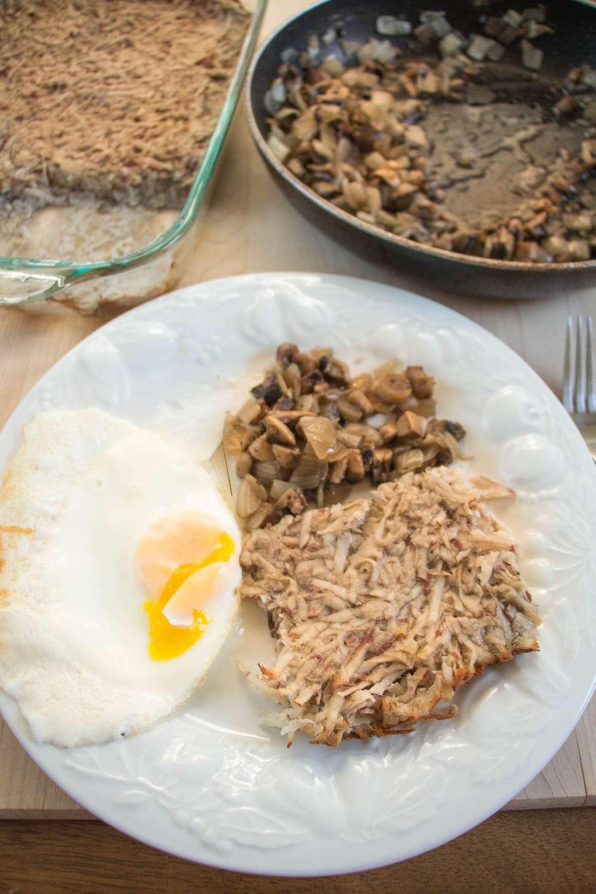 Breakfast Shredded Potatoes