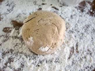 Easy Rye Flour Pizza Dough