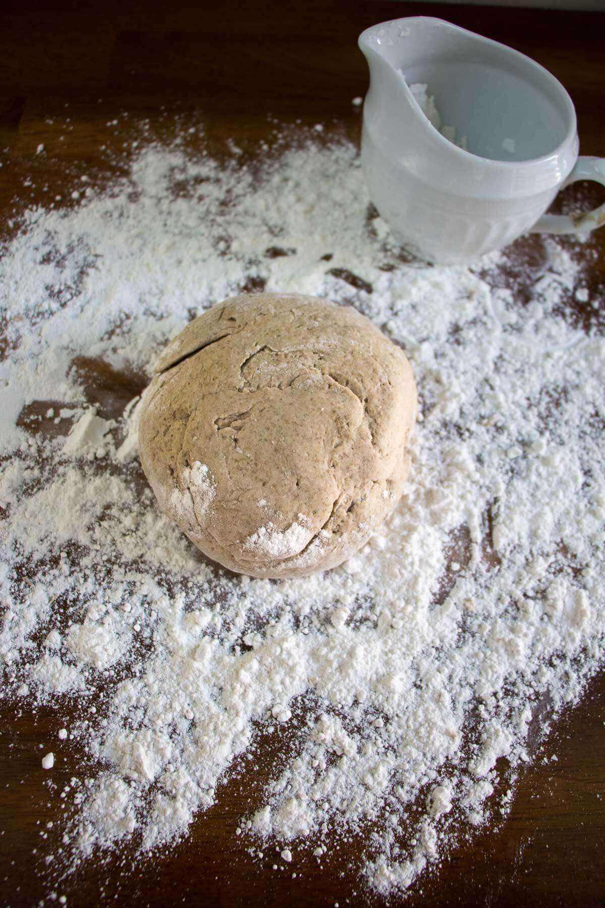 Easy Rye Flour Pizza Dough