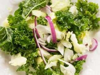Easy Kale Lettuce Salad