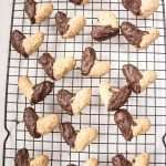 Heart Chocolate Dipped Cookies